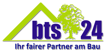 Logo BTS 24 - Ihr fairer Partner am Bau